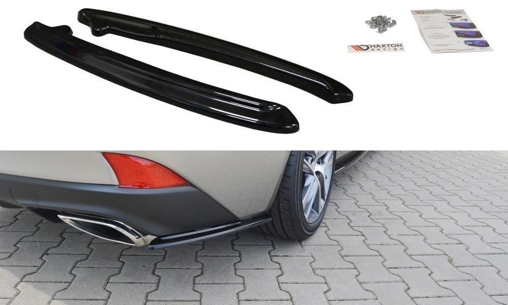 Splittery Tylne Boczne Lexus IS Mk3 Facelift T - GRUBYGARAGE - Sklep Tuningowy